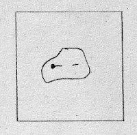 drawing of a patch pinned to a foundation square
