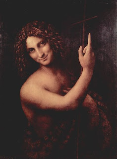 Da Vinci's John the Baptist