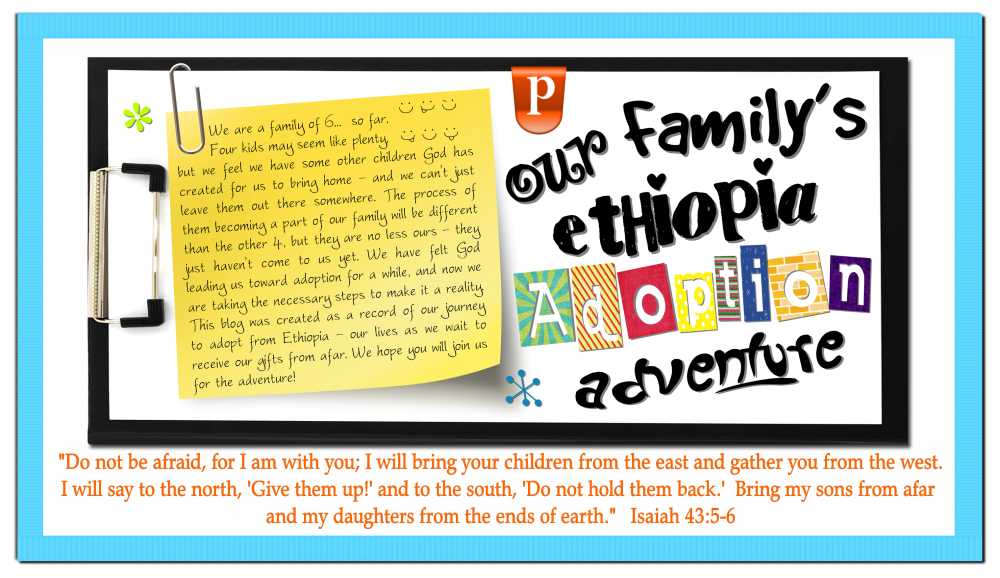 The Pierce Family's Ethiopia Adoption Adventure
