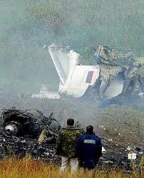 Pulkovo Airlines Flight 612 Crash burn flames