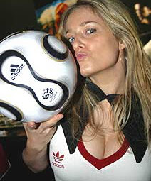 fotografia de futebol