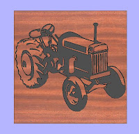 Tractor CNC DXF