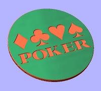 Poker CNC DXF