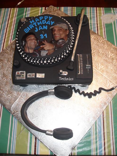Jan's D.J. B-Day Cake