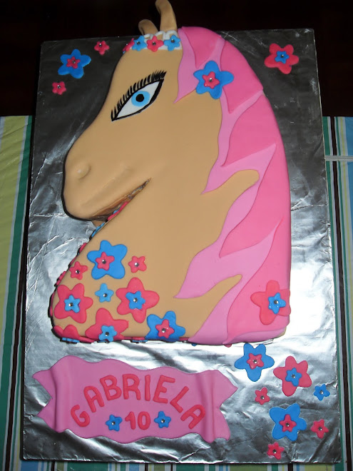 Funky Horse Cake