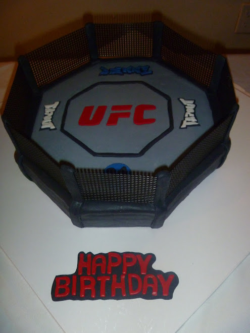 Denni's Octagon Birthday Cake