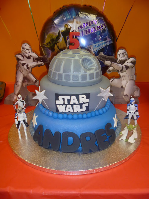 Andre's Star Wars Birthday Cake