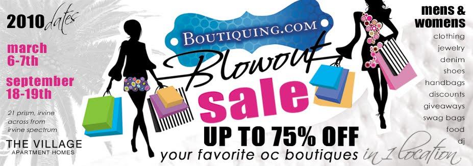 Boutiquing Blowout Sale