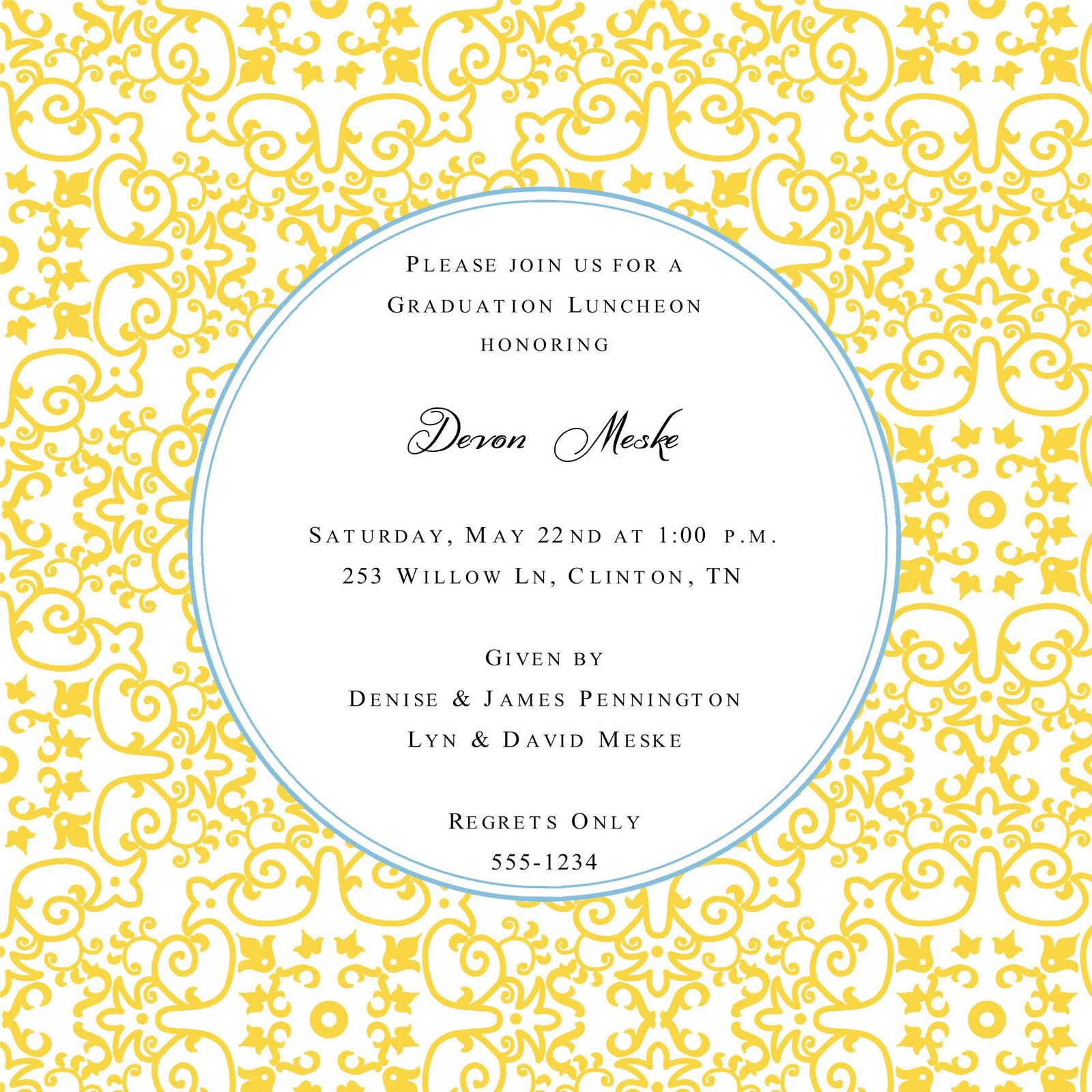 Going Away Party Invitation as adorable invitation design