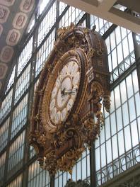 Reloj del Museo Orsay