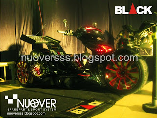 DJARUM BLACK MODIFICATION MOTODIFY 2009