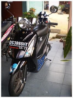 Modification Suzuki Shogun 125 , It's a job of alex form Jogjakarta
