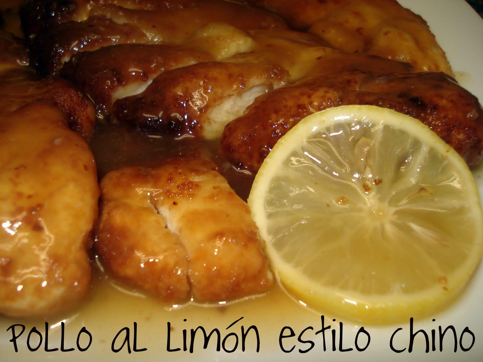 Cocin ndotelo pollo al lim n estilo chino - Pechugas de pollo al limon ...