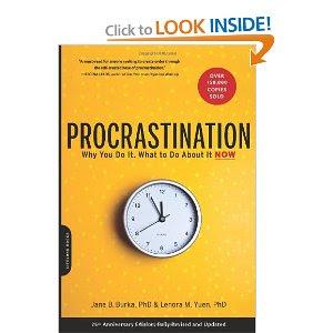 Procrastination why you do it