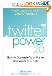 Twitter Power Book Joel Comm