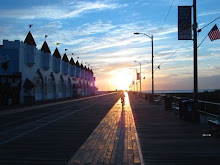 Ocean City Boardwalk in the Off Season