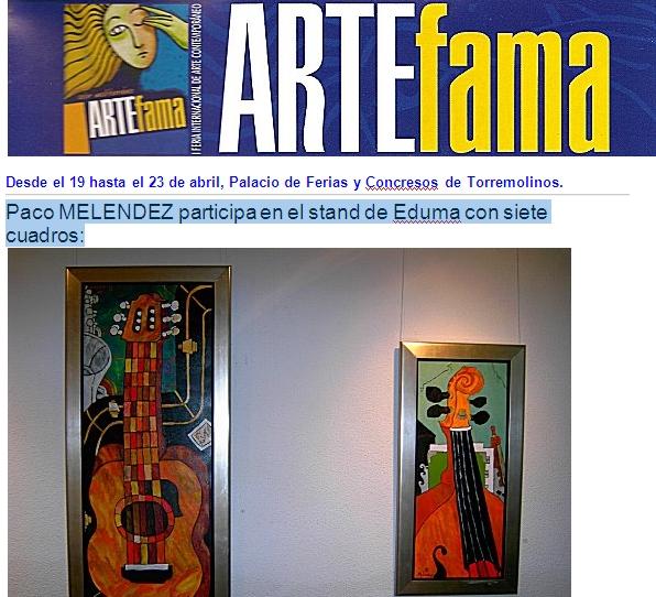 ARTEfama TORREMOLINOS 2007
