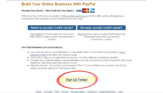 Cara Daftar PayPal Tanpa Kartu Kredit (without Credit Card)