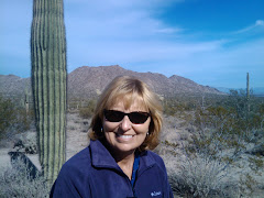 Cathy in the San Tan Mountains