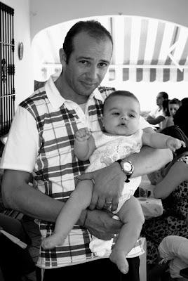 Mi hermano Rafa y su hijo. (c) Julio Portero