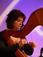 mry anne kennedy harp copyright kerry dexter