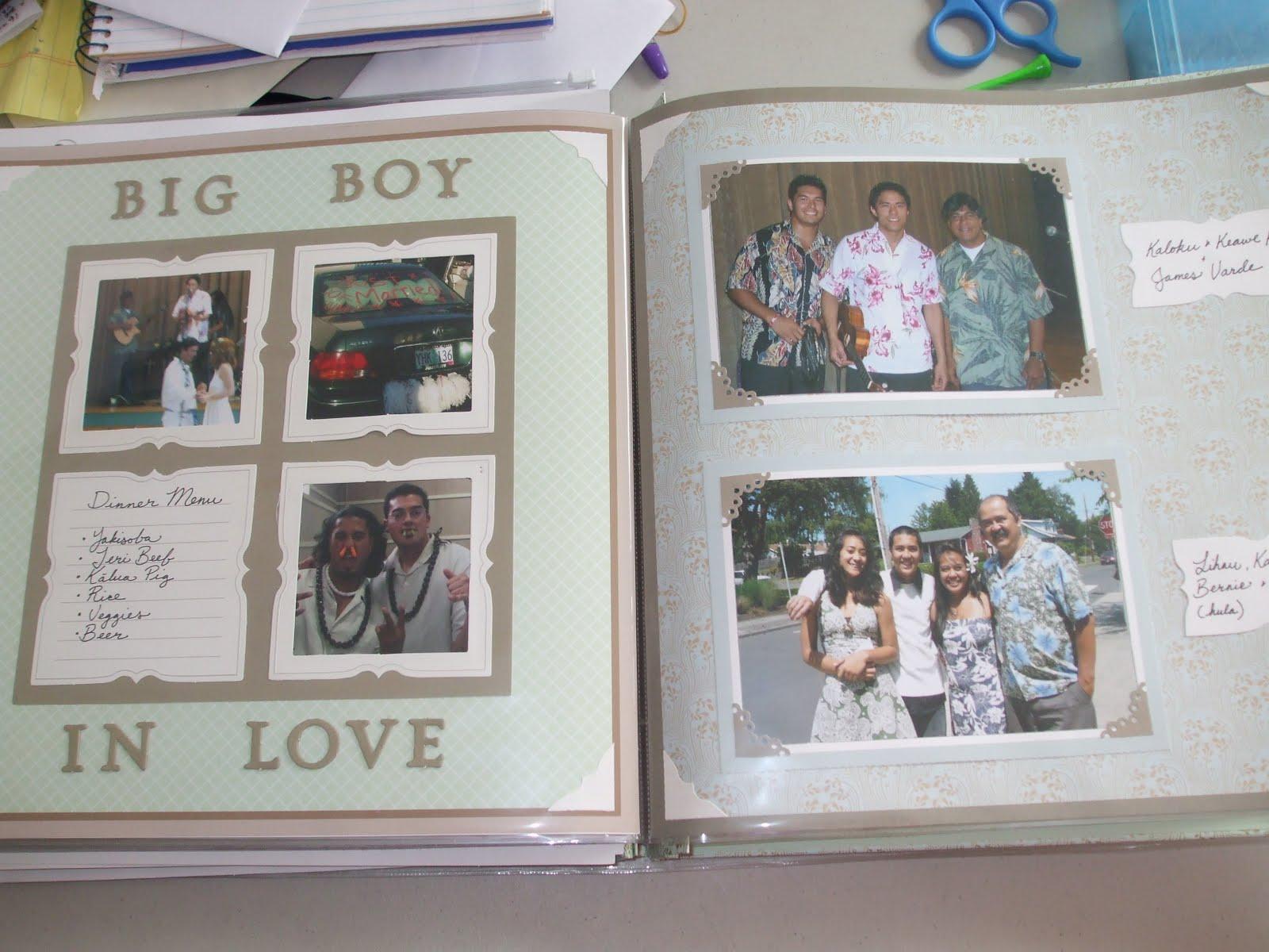 Keiki On Board Martha Stewart Wedding Scrapbook Kit