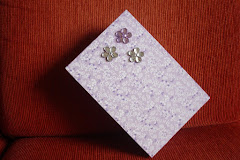 Caixa decorada com patscrap