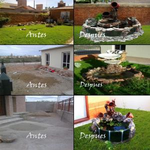 Paisajismo artistico cascadas y fuentes de exterior con for Disenos de fuentes y cascadas