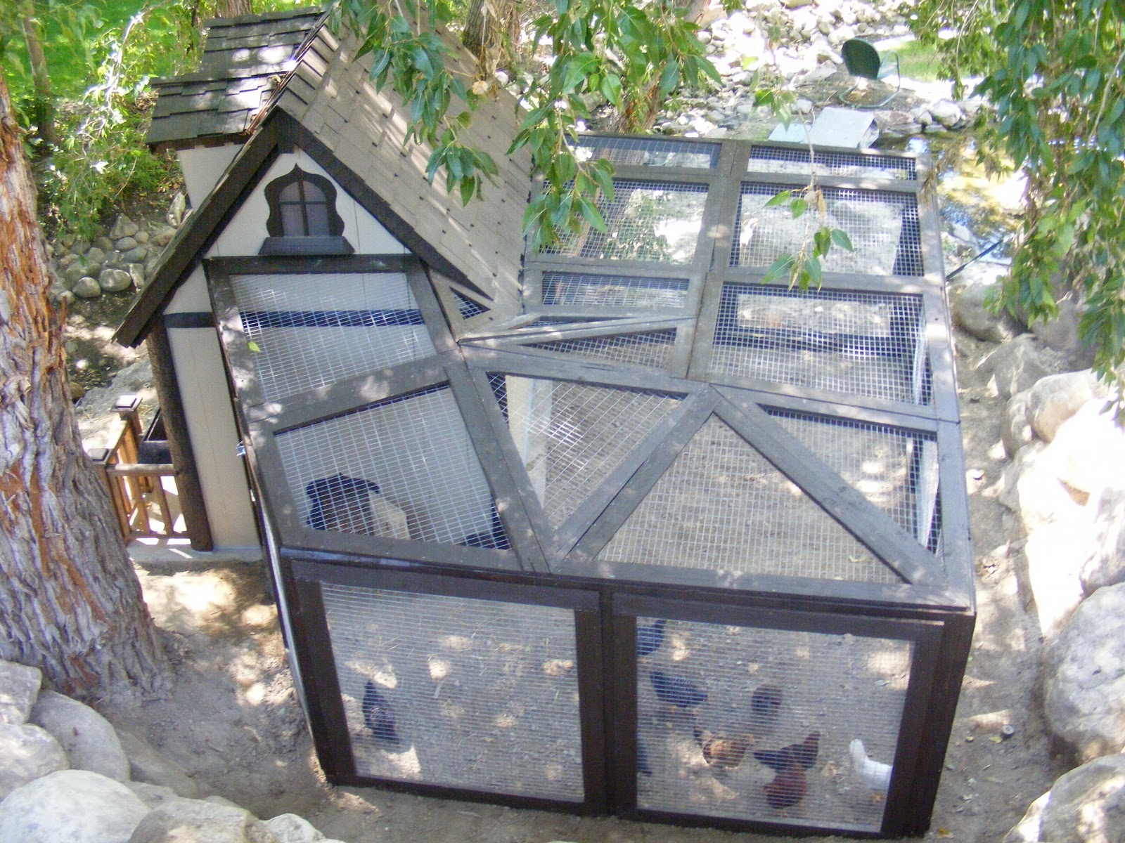 Fancy builder kids playhouses chicken coops sheds in for Fancy chicken coops