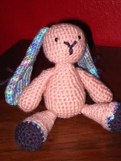 Amigurumi Floppy Ear Bunny : Floppy Eared Easter Bunny Free Crochet Patterns