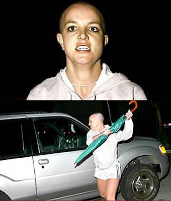 Britney Spears enfurecida