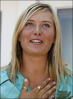 Sharapova no grita en la cama como en la cancha