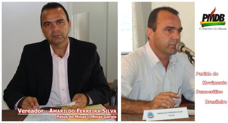 Blog do Vereador Amarildo Ferreira Silva, Patos de Minas