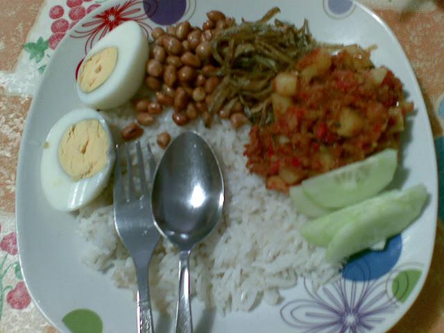 nasi lemak, malaysia cuisine