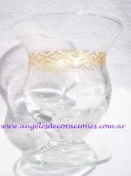 Mate de vidrio