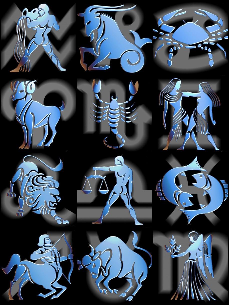 Dibujos con simbolos im genes del zodiaco signos - Signos del zodiaco de tierra ...