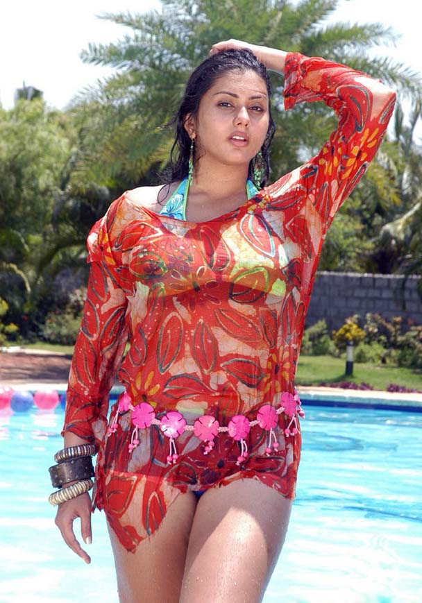 And Sey Actress Namitha Is Very Cute Glamorous