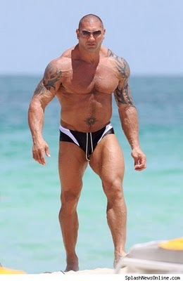 Tattoo Artis Holywood Wwf Super Ster Batista Sexy Tattoos Picture