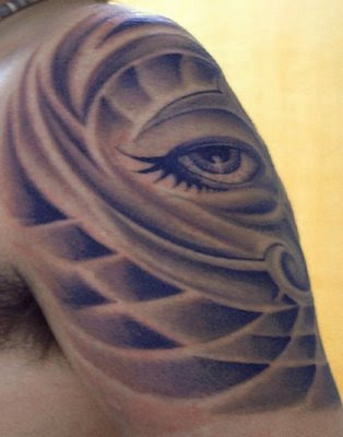 tattoo on eye. Japanese Eye Tattoos