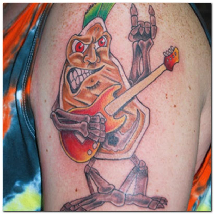 weird tattoos. Weird Tattoos Designs