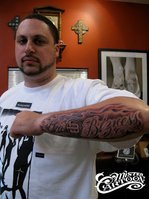 CHECK OUT ONE OF THE RECENT TATTOOS I DID.. ON SEATTLE PRODUCER DOW JONES