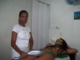 tratamento com aparelho infra-vermelho