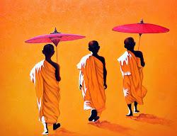 Tres monjes