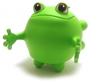 froggy ball de fugitive toys