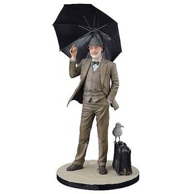 el padre de indiana jones con su paraguas