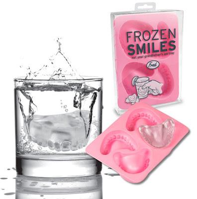 dentadura postiza de hielo