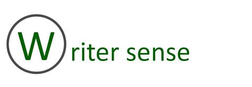 Writer Sense