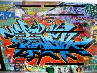 Free Graffiti Desktop Wallpaper