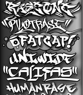 Best Graffiti World: Abecedario Graffiti : Graffiti White Alphabet A-Z