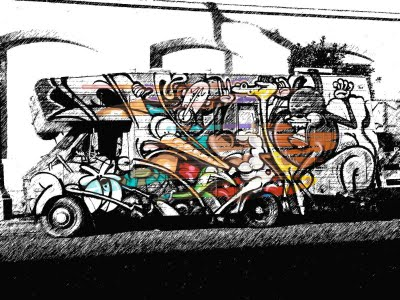 Graffiti Drawings : How to draw graffiti on cars | New My Graffiti